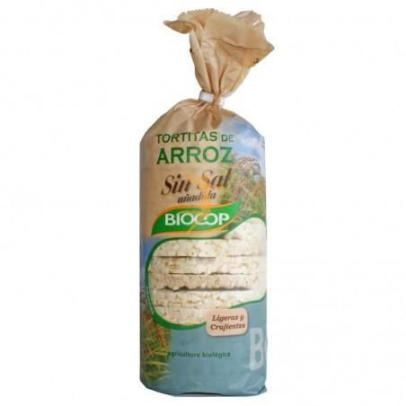Tortitas de arroz sin sal