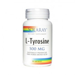 L-TIROSINA 500MG SOLARAY