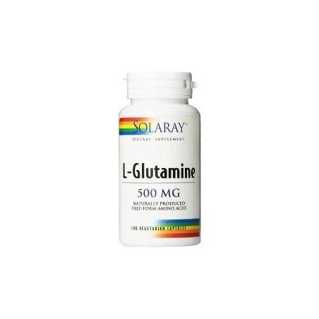 L-GLUTAMINA 500 MG SOLARAY